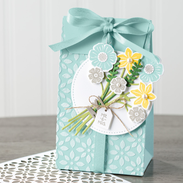 Bouquet gift bag