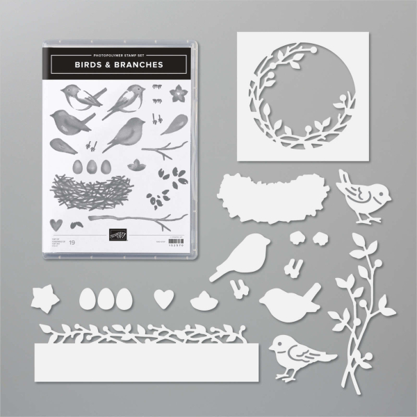 Birds and branches bundle