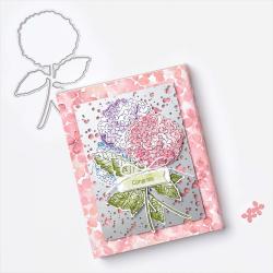 Hydrangea haven single card