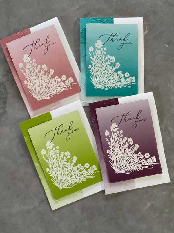 Set of 4 cards saleabration