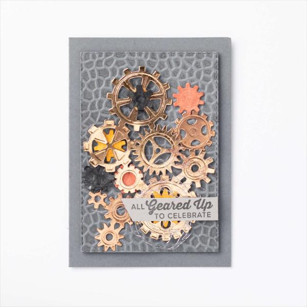 Garage gears card