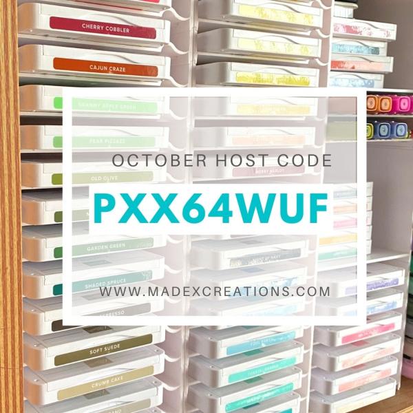 October Host Code Stampin Up