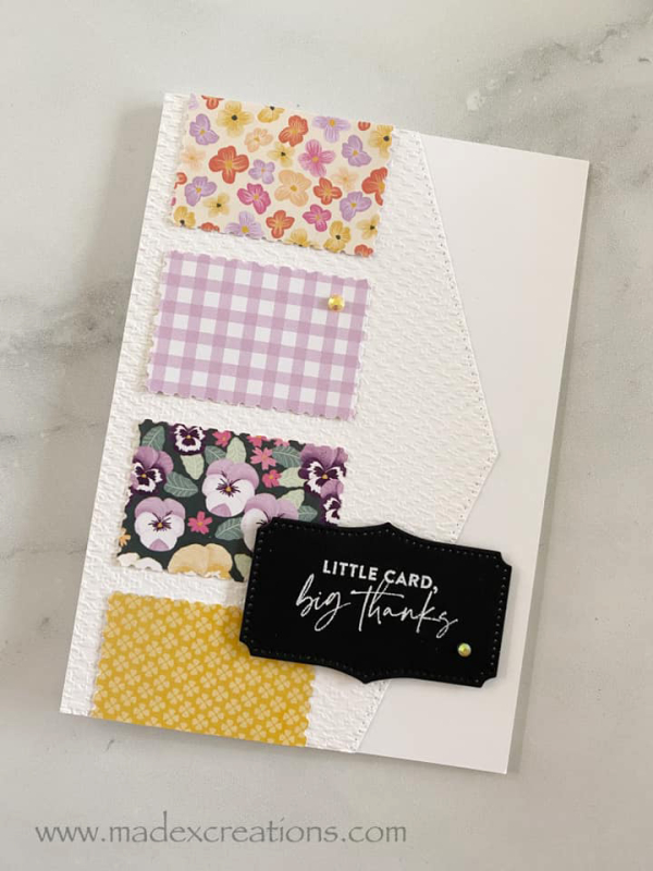 Pansy card 1