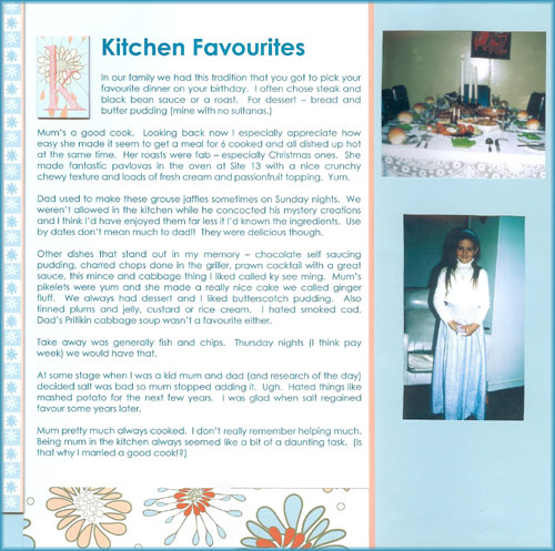 Kitchen-favourites